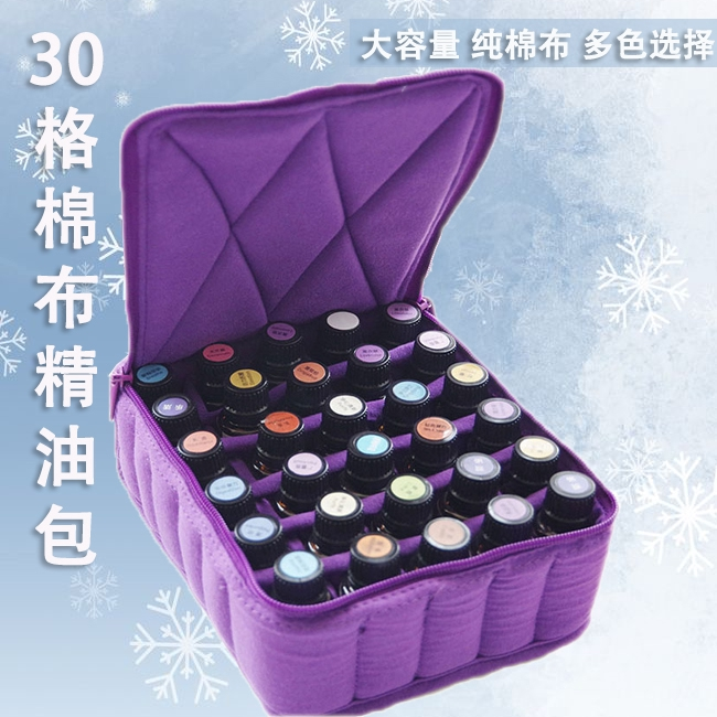 30 Compartments 5ml Essential Oil Carrying Case