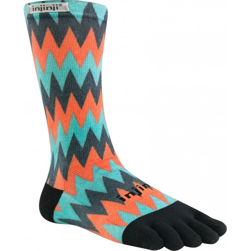 Other Fitness Clothing Injinji Trail Toe Socks Run Midweight Crew Spectrum Gritty Five Finger New Sporting Goods