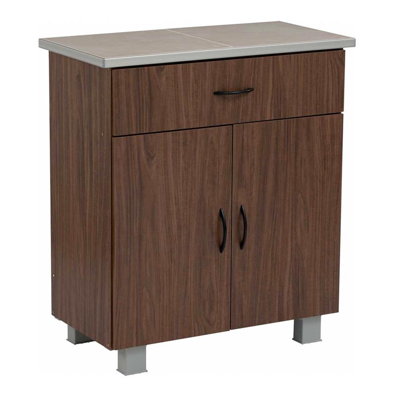 FREY tile mosaic top kitchen cabinet/ kabinet dapur kayu
