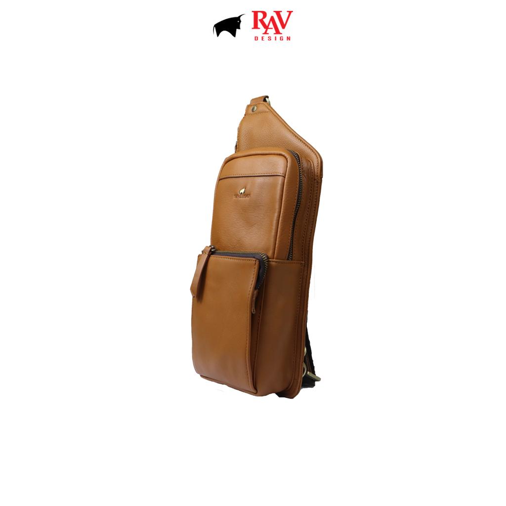 RAV DESIGN 100% Genuine Leather Crossbody Bag |RVC485G2 series