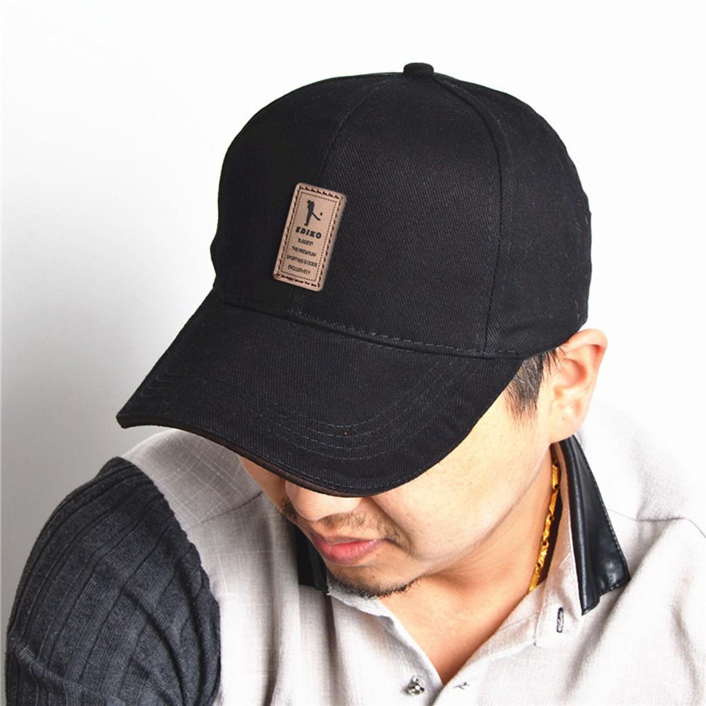 Topi Kosong Hitam Snapback Casual Simple Cap Outdoor Hit-Hot Baseball Hats   cfec91afe3