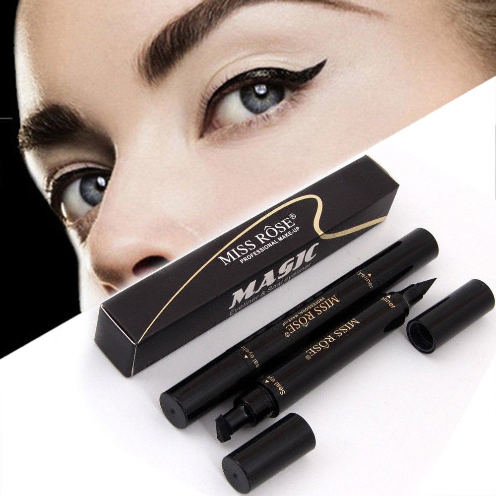 1 Pcs Charming Cat Eye Winged Eyeliner Sexy Eye Cosmetic Seal Stamp Wing Double Head Waterproof Eyeliner Pen Tool To Assure Years Of Trouble-Free Service Back To Search Resultsbeauty & Health