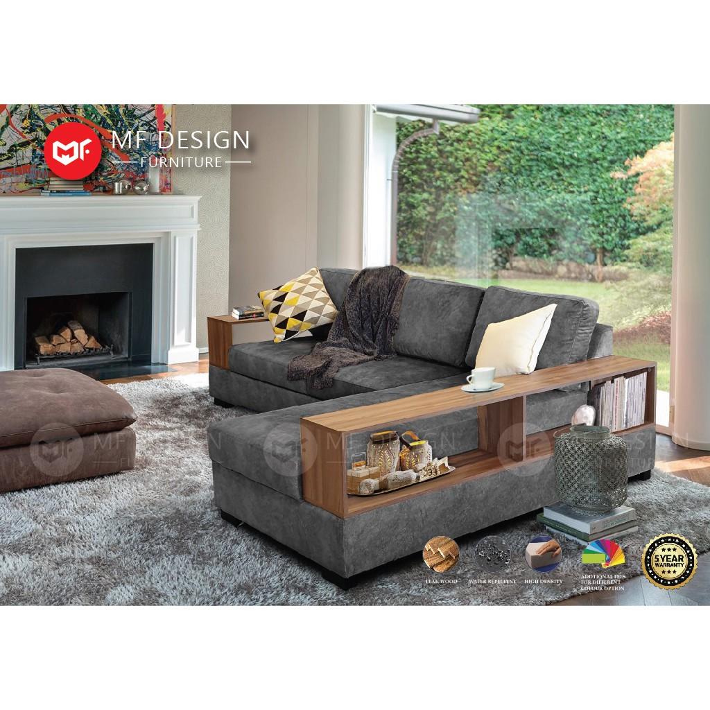 Mf Design Abner L Shape Sofa Kerusi
