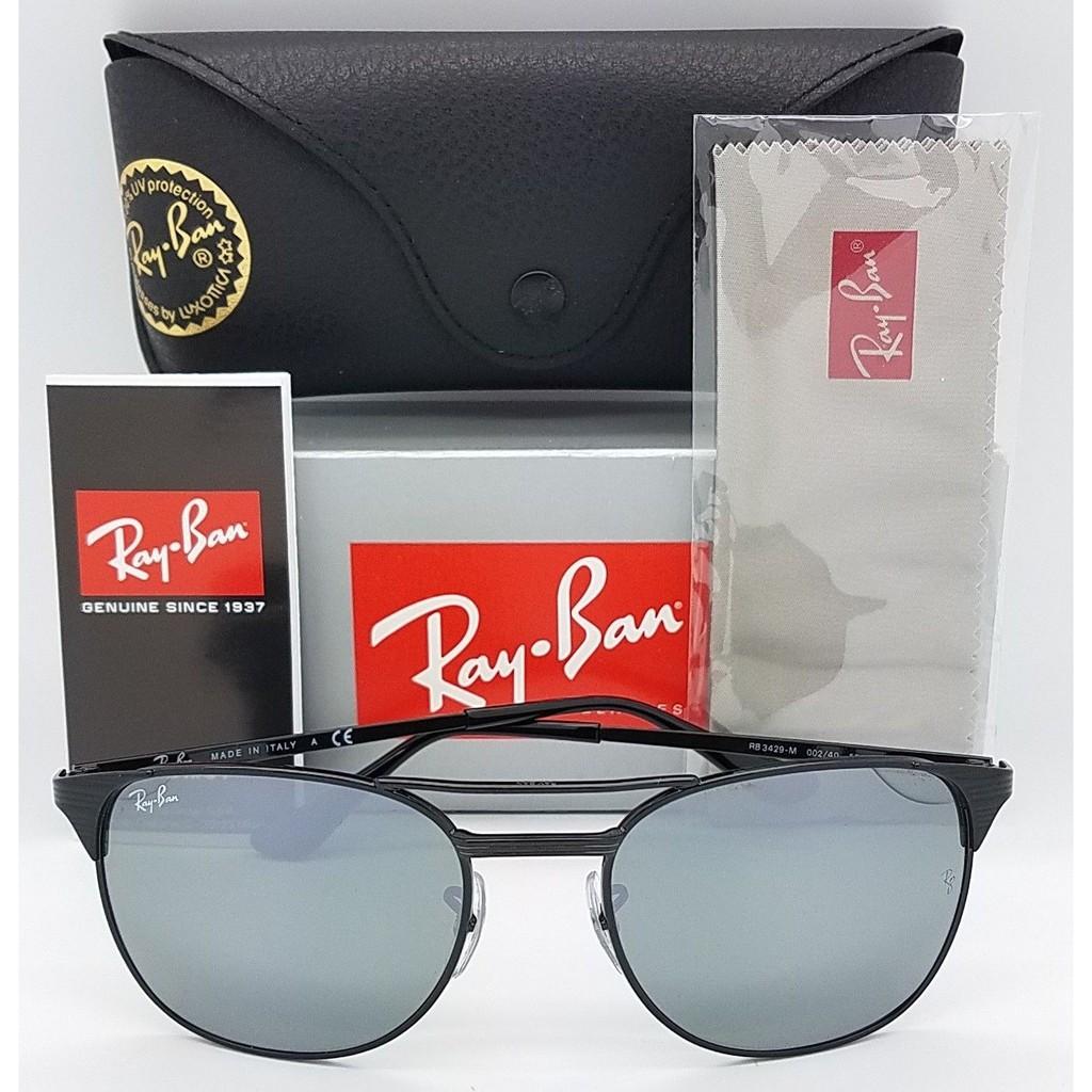 7bd60f717f NEW Rayban Signet Sunglasses RB3429M 001 58mm Gold G15 Green Grey GENUINE  3429