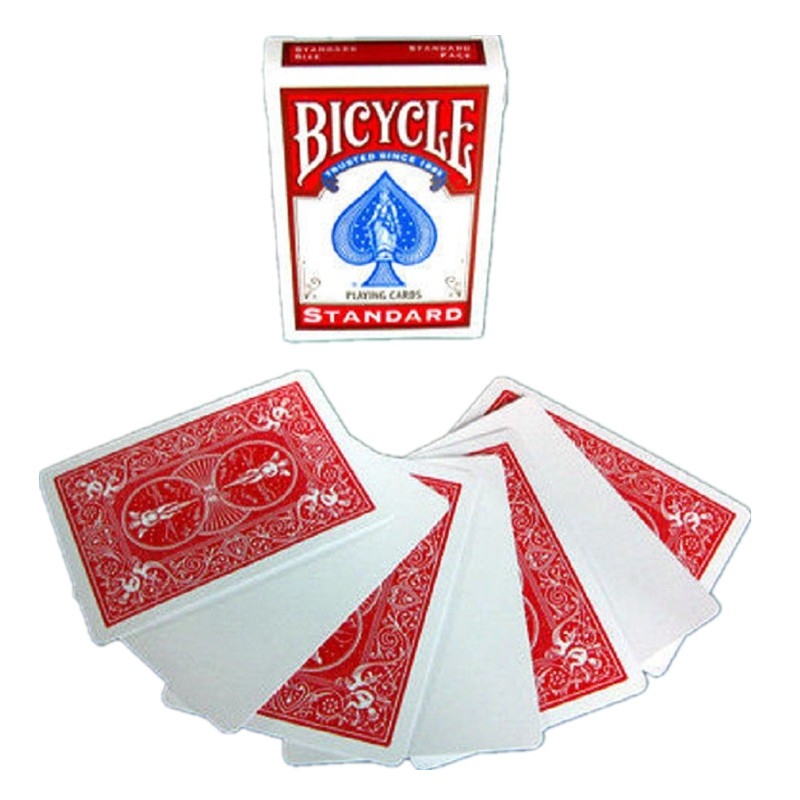 Bicycle Blank Face Blue Back Deck Playing Cards Rider 808 USPCC 4 Magic Tricks