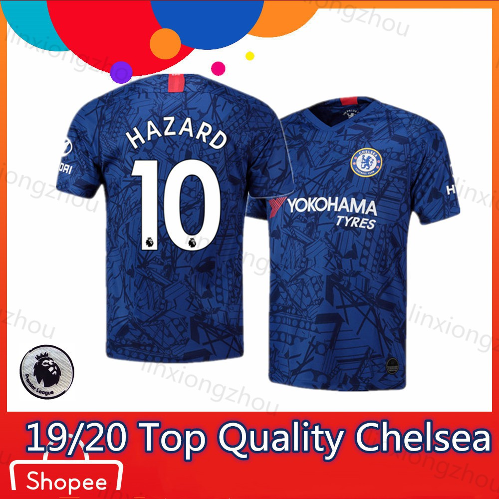 newest ebd11 f1763 Top Quality Chelsea Home 19/20 and 18/19 Soccer Jersey Football Jersey Jersi