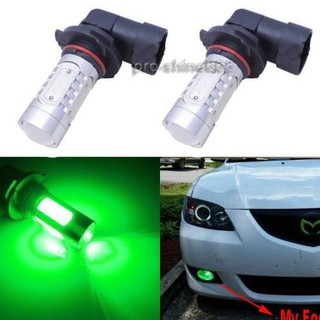 2x 9006 HB4 9012 High Power Green LED Bulbs For Car Vehicle Driving