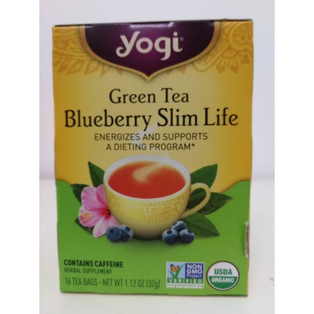 READY🇲🇾] Yogi Green Tea Blueberry Slim