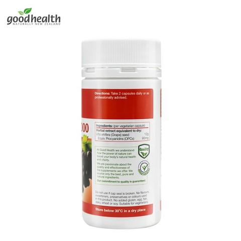Good Health Grape Seed 好健康葡萄籽精华胶囊 12000mg*150粒