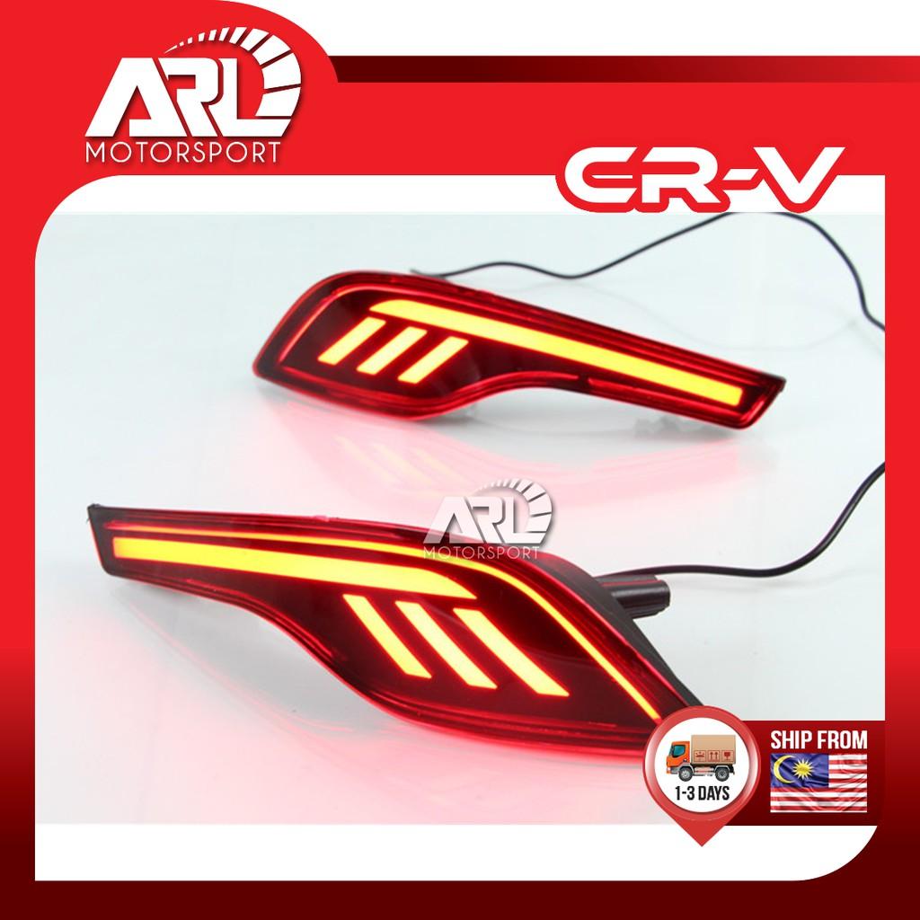 Honda CR-V / CRV (2017 - 2020) Rear Reflector LED Light Lamp Car Auto Accessories ARL Motorsport