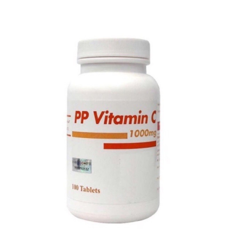 PAHANG PHARMACY PP VITAMIN C 1000MG TABS 100S EXP06/2022