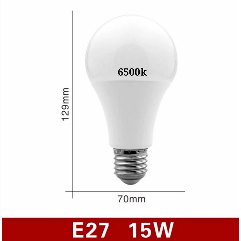 [ READY STOCK ]  E27 Led Bulb Light Nature White 4000k White 6500k Warm White 3000k Energy Saving Bubbe Ball Lamp Lampu