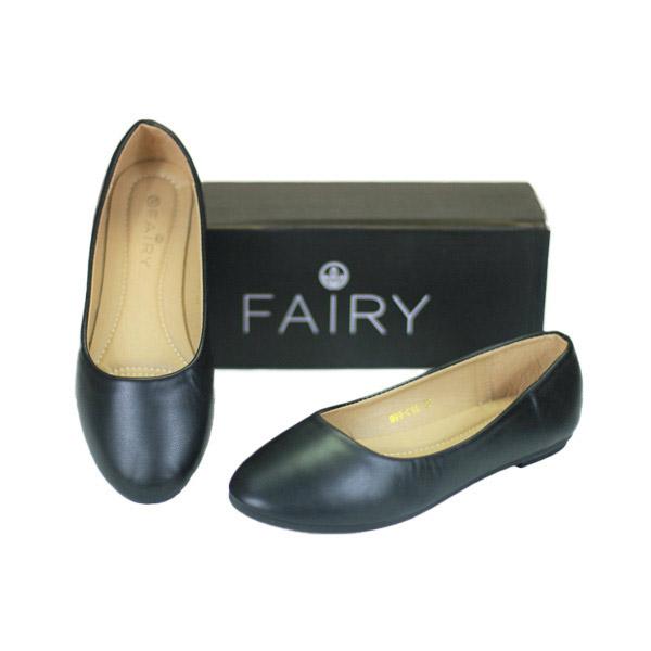 รองเท้าคัชชูส้นแบน 999-C1A   FAIRY