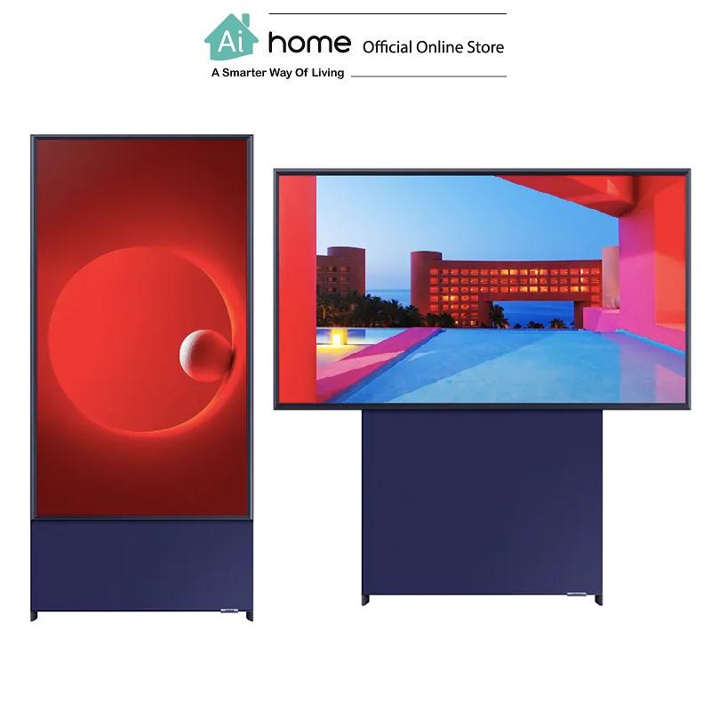 "SAMSUNG Sero QLED 4K UHD HDR Smart TV 43"" with 1 Year Malaysia Warranty [ Ai Home ]"