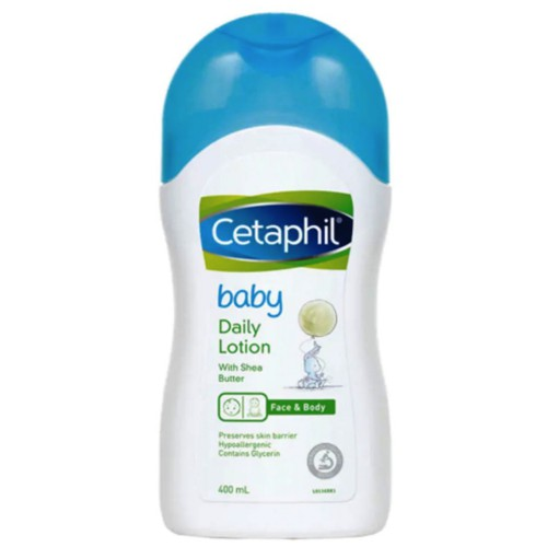 Cetaphil Baby Daily Lotion 400ml (Face and Body)