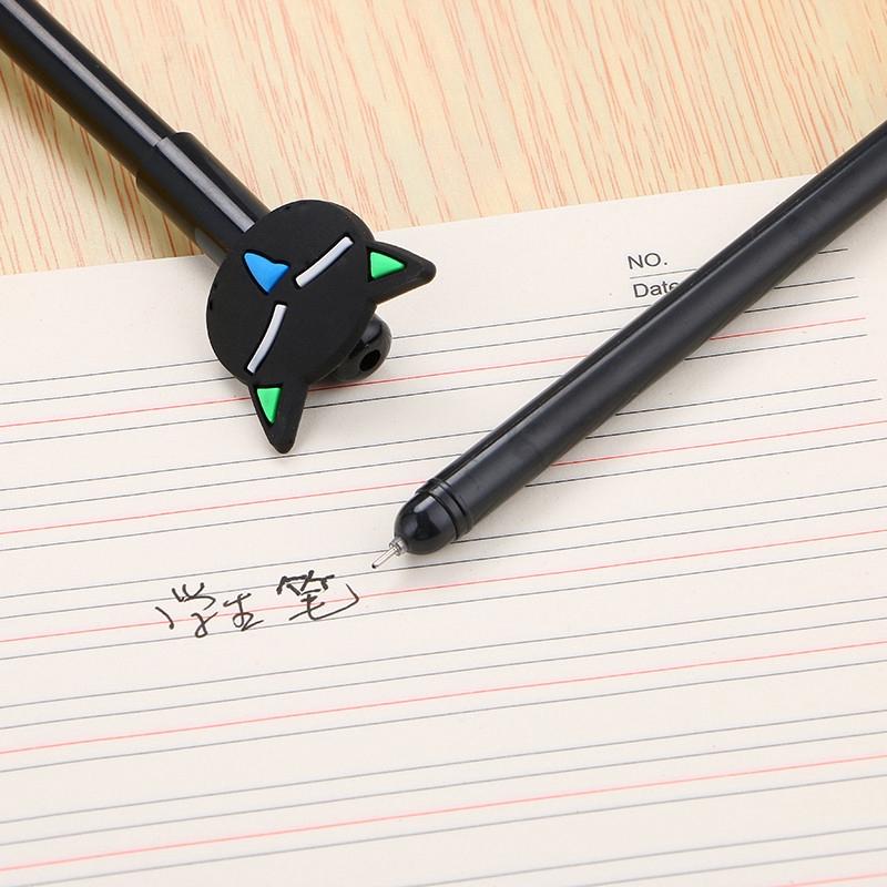 4fa87db82 ProductImage. ProductImage. 40 pcs Black Cat Gel Pen Cartoon Plastic Pens  For Writing Office School Supplies