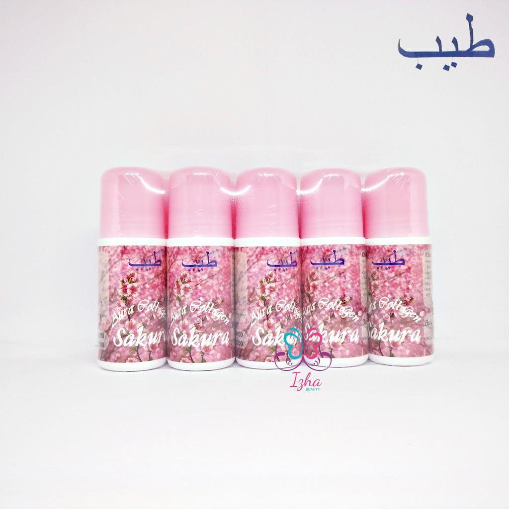 [TAYYIB] 10x Aura Collagen Sakura Pink