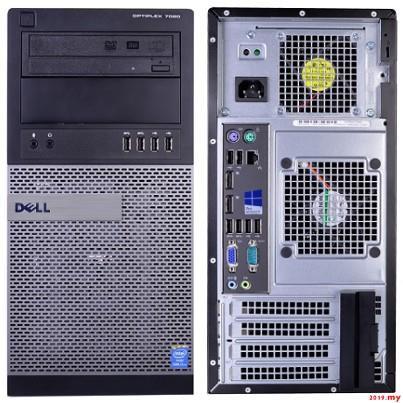 NEW,2019Dell Optiplex 7020 MT PC i5 3 30GHz /4GB /1TB HDD /W10P /MS Office  HB 20