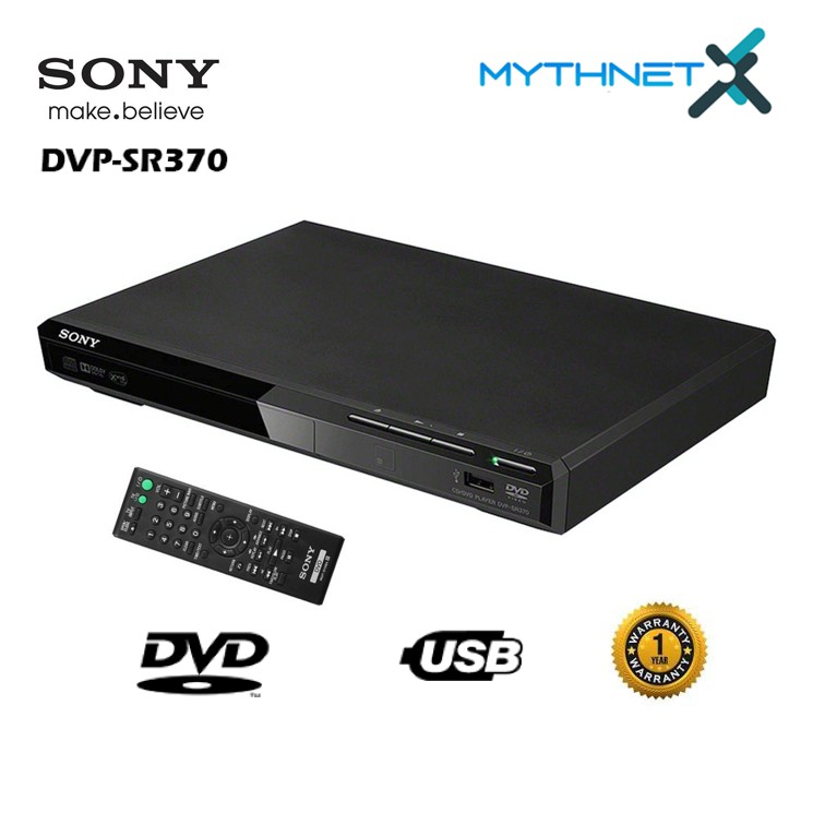 Sony DVP-SR370 USB DVD Player
