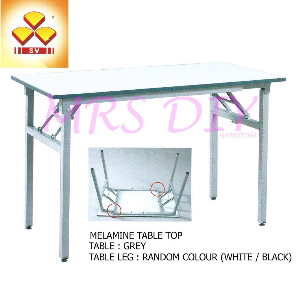 Mrs Diy Super Stable Banquet Table Foldable Table Meja Lipat Pre