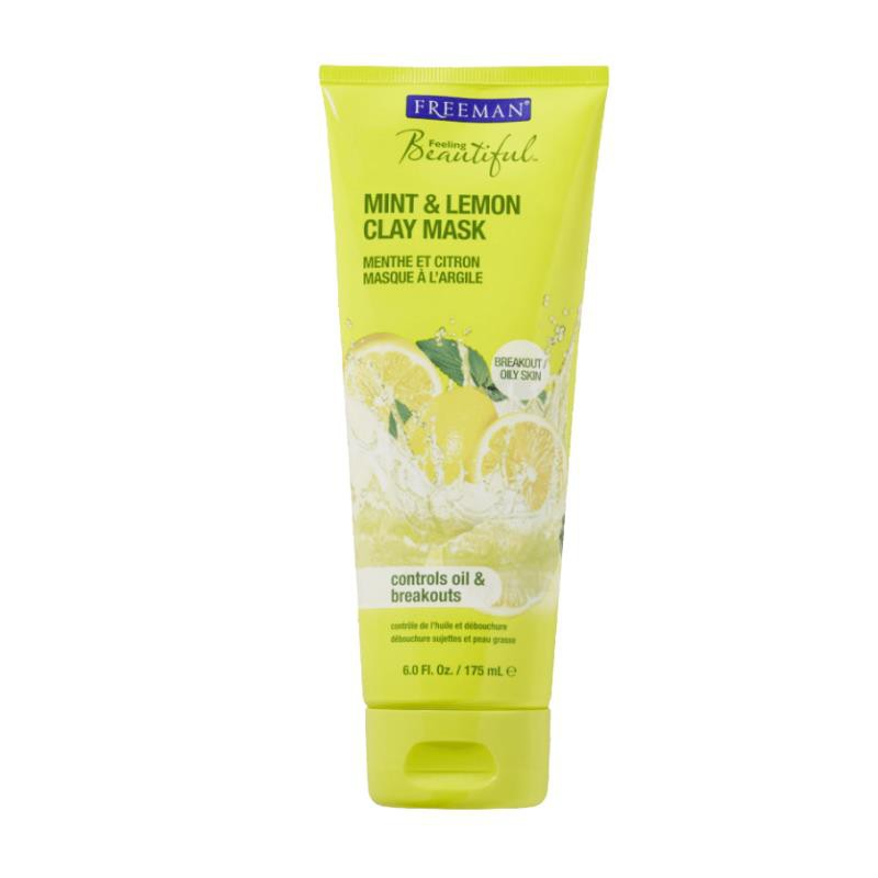 Freeman Mint & Lemon Clay Mask Oily Skin Face Mask 175ml