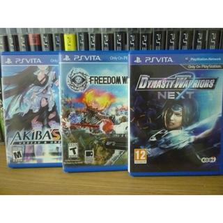 Dynasty Warriors NEXT, Freedom Wars,Akiba's Trip Undead And