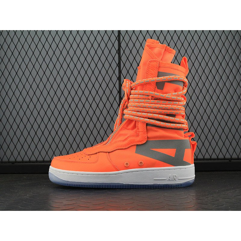bc8cdb909559 Nike Special Field Air Force 1 High Total Orange AA1128-800