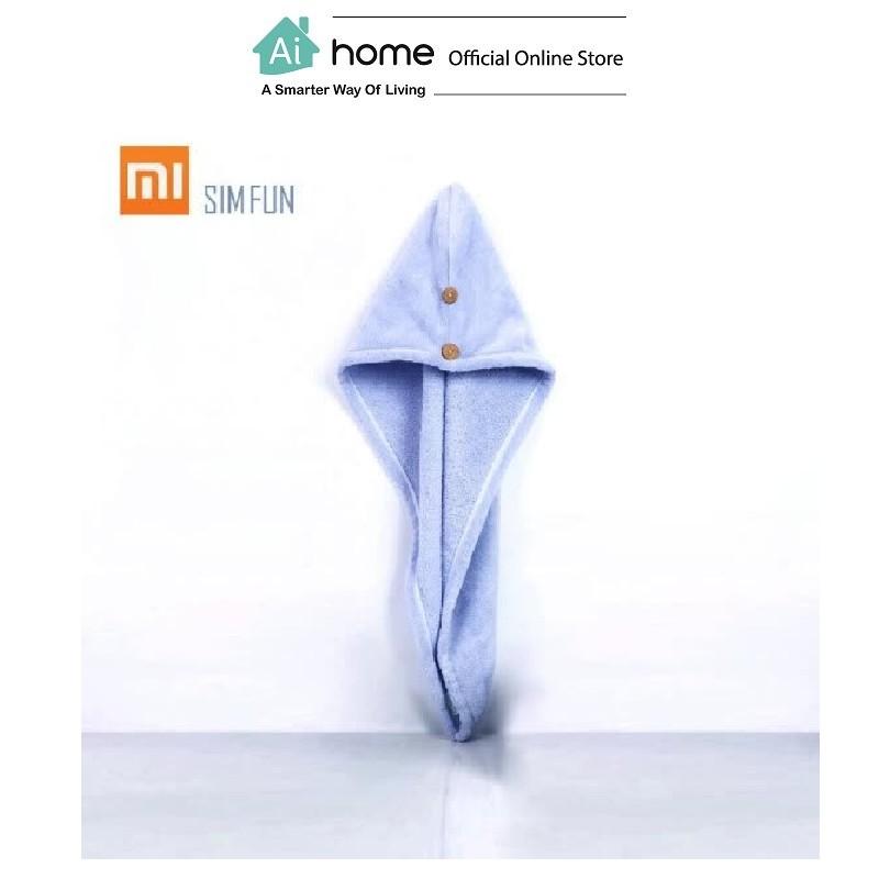 SIM FUN Slim Soft Dry Hair Cap [ Smart Hair Care ] [ Ai Home ]