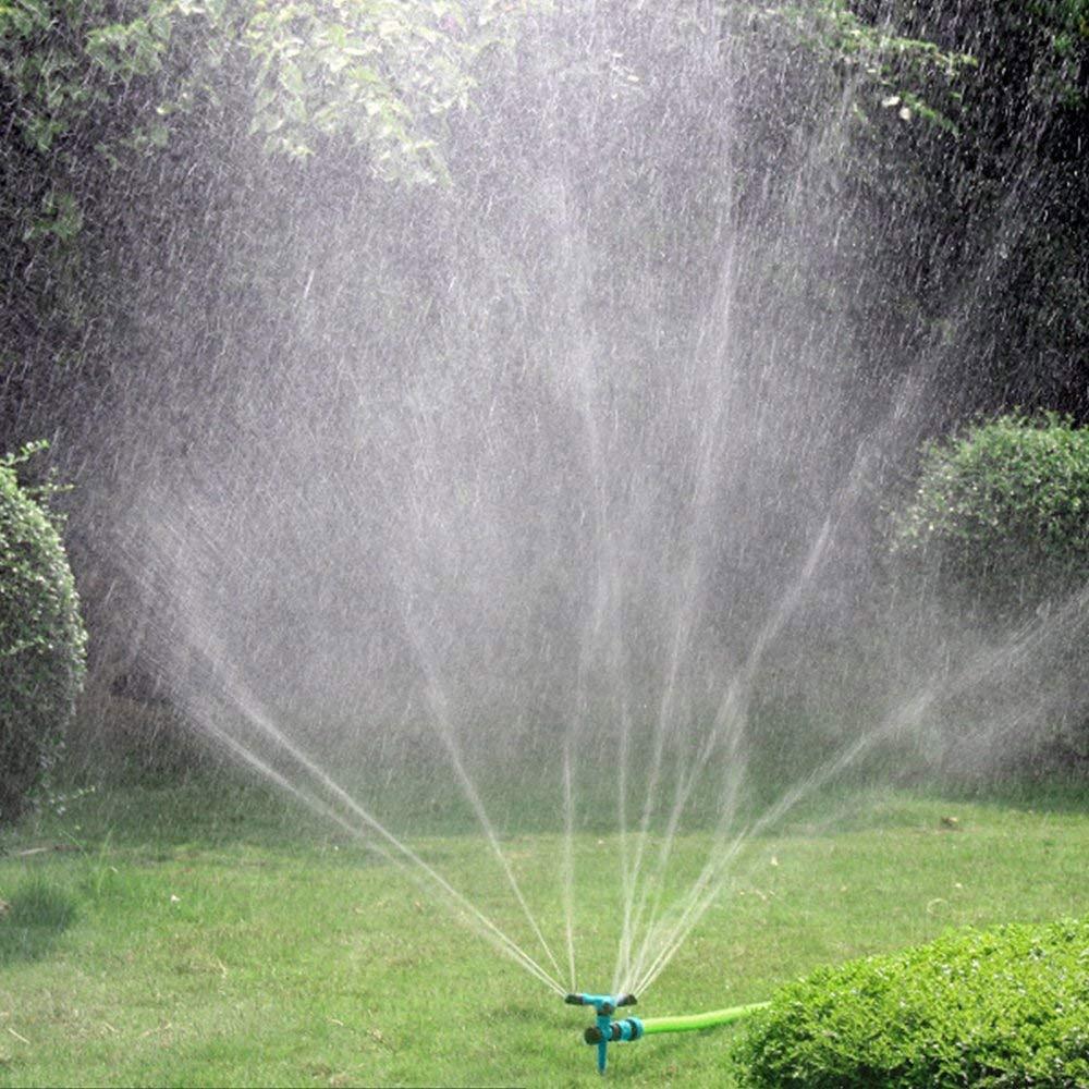 ROTATING SPRINKLER BUTTERFLY ON SPIKE GARDEN SPRINKLER LAWN WATERING,