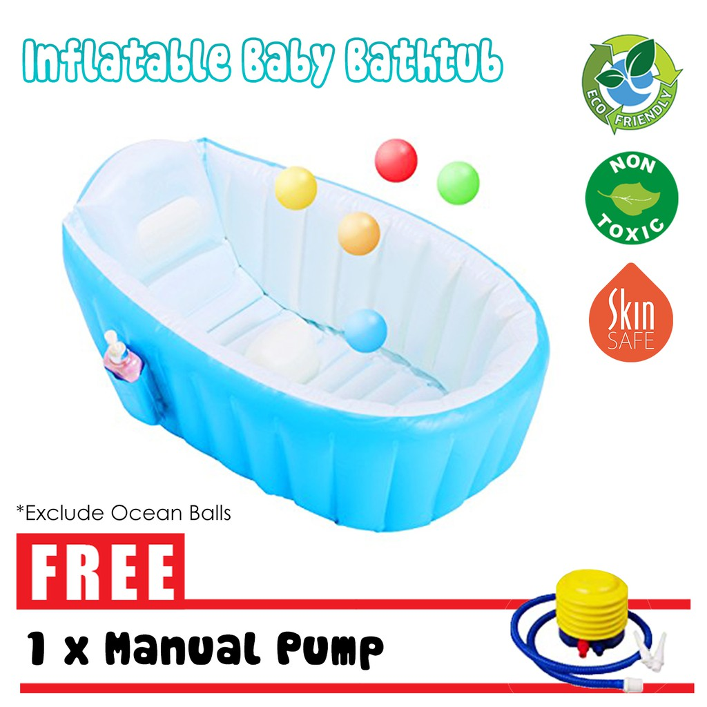 Portable Quality Air Inflatable Baby Bathtub Swimming Pool Kids ...