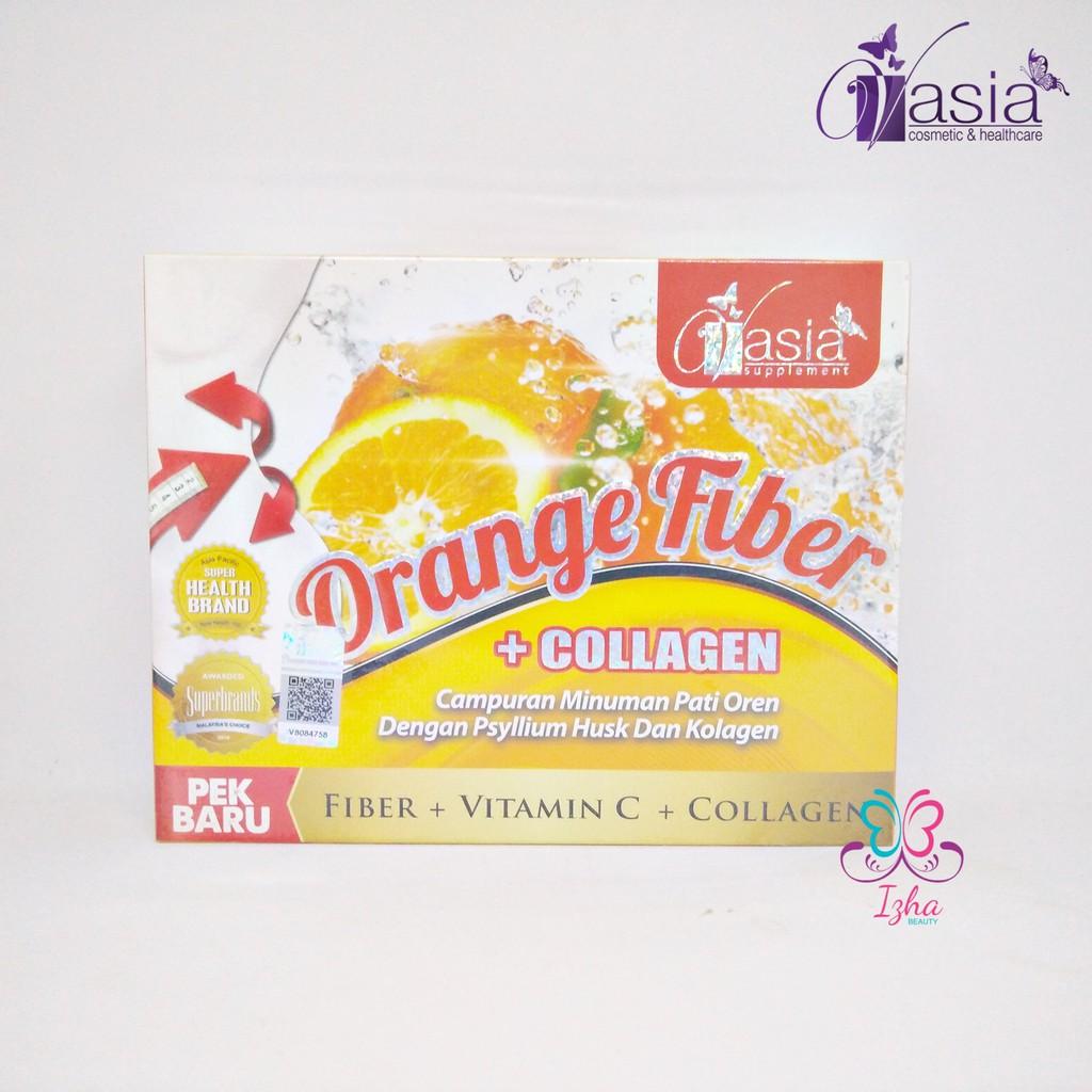 [V\'ASIA] Orange Fiber + Collagen - 10 sachet x 15g
