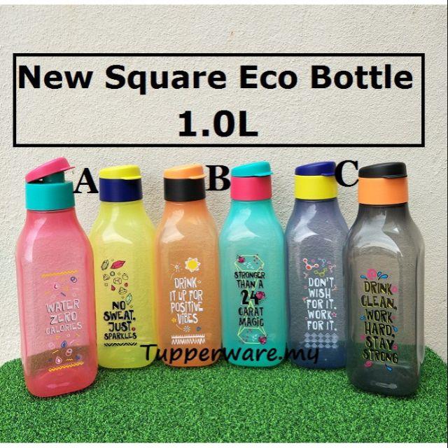 Tupperware stay positif eco bottle