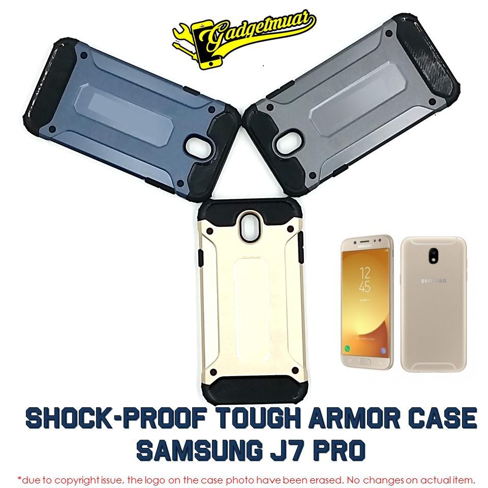 Ready Stock Shockproof Heavy Duty Tough Armor Tech Hard Case Samsung Galaxy A5 2016 Spigen Hybrid Back J7 Pro Shopee Malaysia