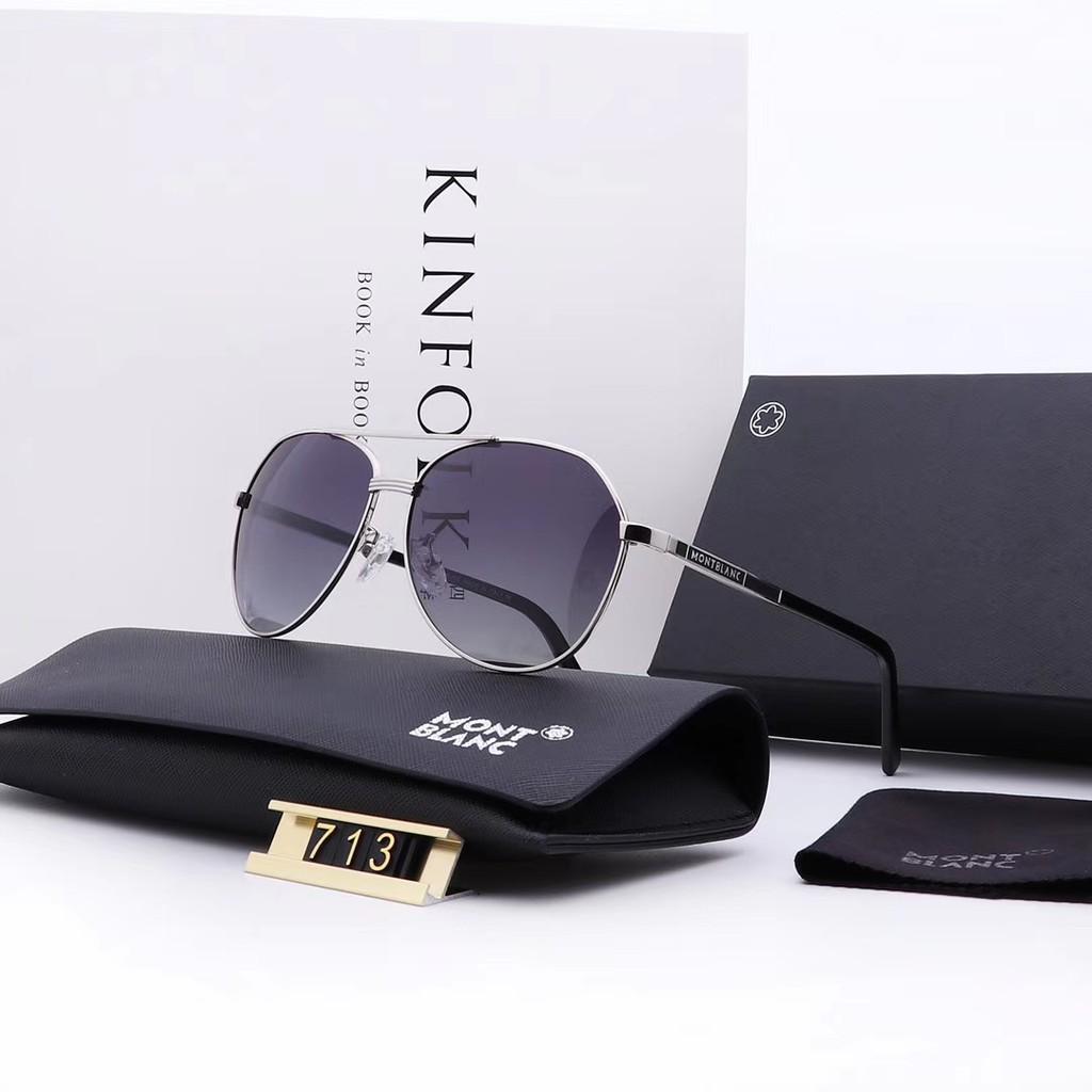 6133d39a3 Mont Blanc new big box male driver fashion gradually polarized sunglasses |  Shopee Malaysia