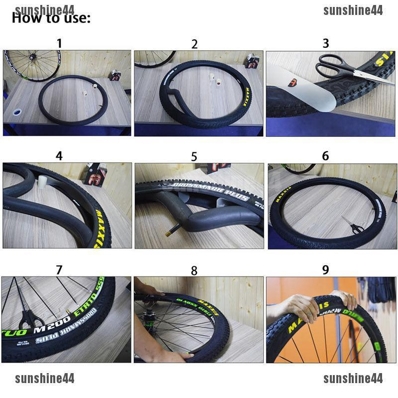 2x 26 29 700c MTB Bike Cycling Road Tire Tyre Liner Inner Tube Protector TO