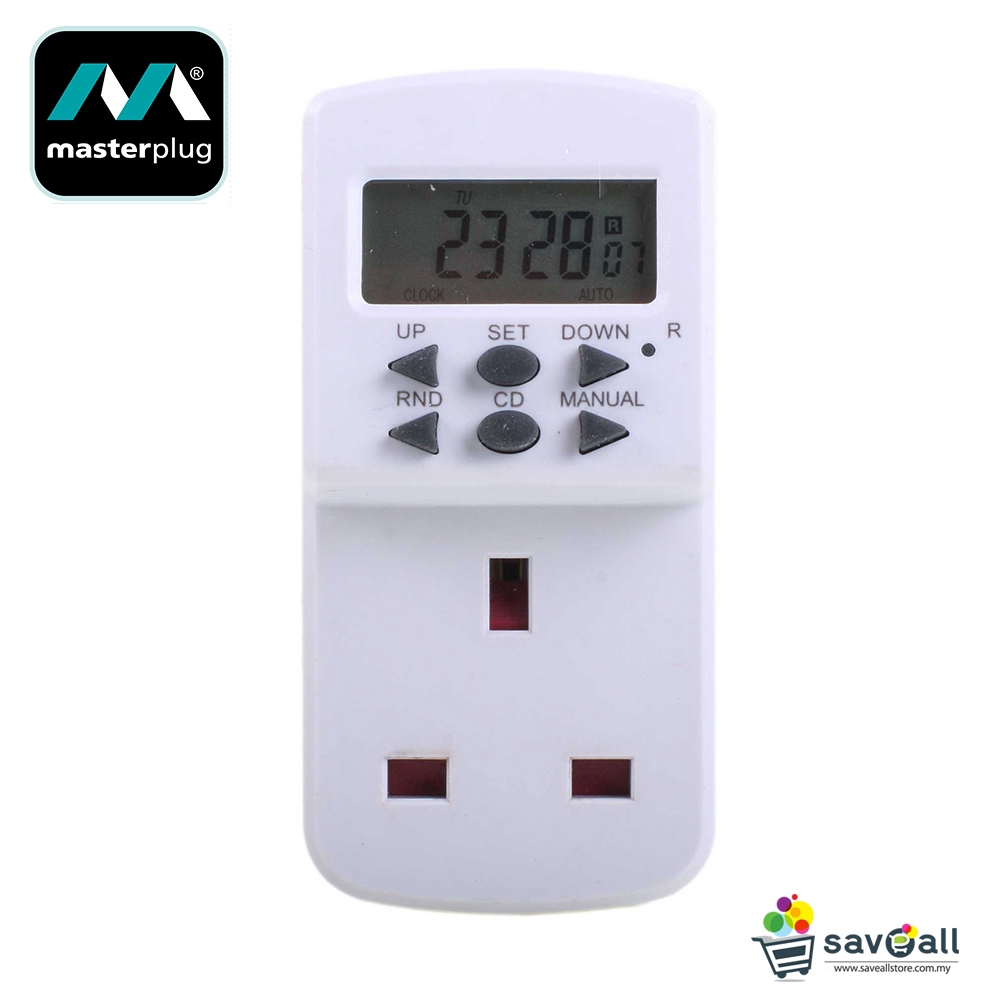 TIMER PLUG IN 7 DAY TES7-MP MASTERPLUG