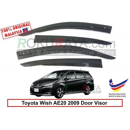 Toyota Wish AE20 (2nd Gen) 2009 AG Door Visor (AG Mugen Design)