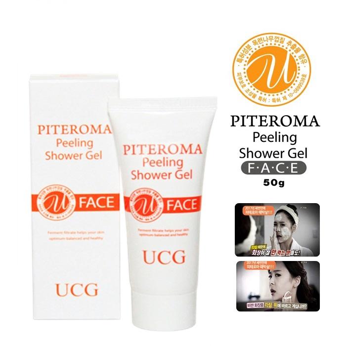 UCG Piteroma Peeling Shower Gel 50g Face Skin Keratin Care Exfoliating Korea