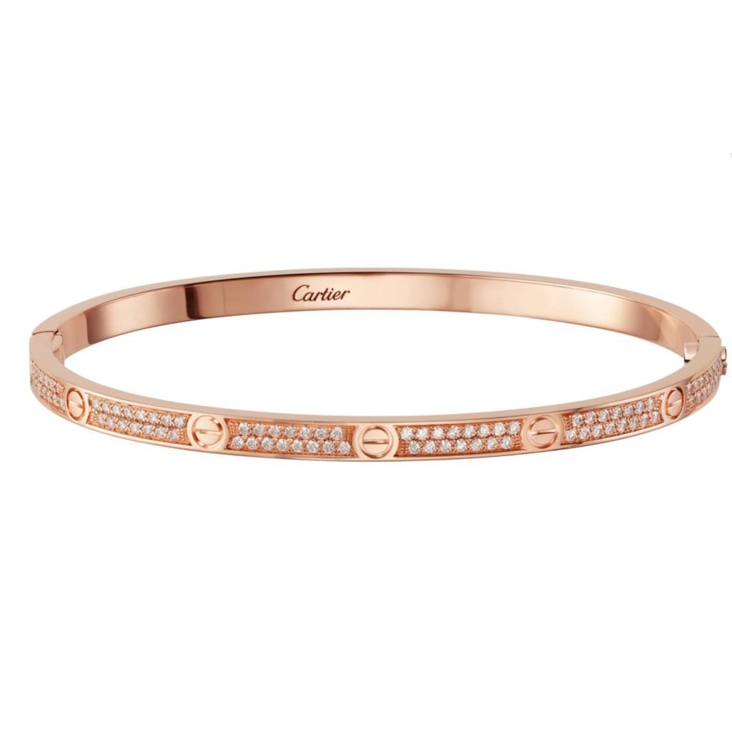 love bracelet cartier diamonds