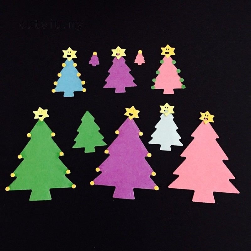Christmas Tree DIE Frosty Spruce Tree Scrapbook Card making Supplies