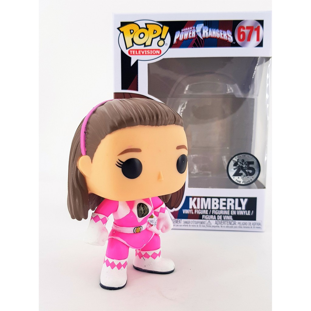 Power Rangers Pink Ranger Funko 32807 POP Vinyl Kimberly 671