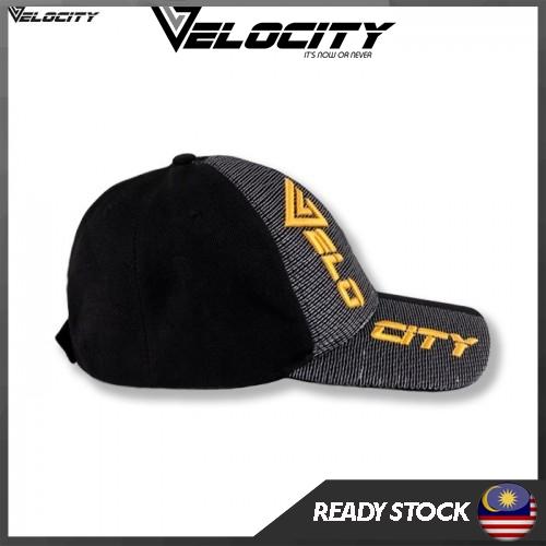 [READY STOCK] Velocity Velocool Cap Black Yellow