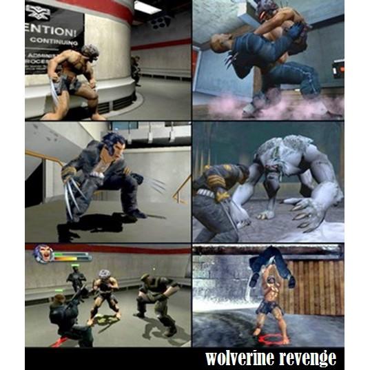 PS2 Game X-Men Origins, X-Men Wolverine Revenge, The Official Game, Beat em Up Game, English version / PlayStation 2
