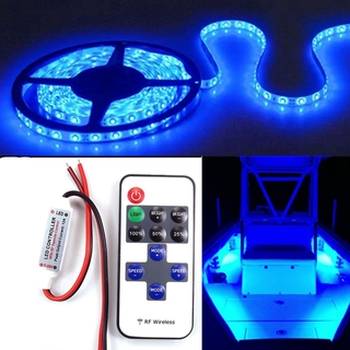 finest selection 1b732 881c1 ✓Wireless 16 FT Blue LED Strip Kit For Boat Marine Deck ...