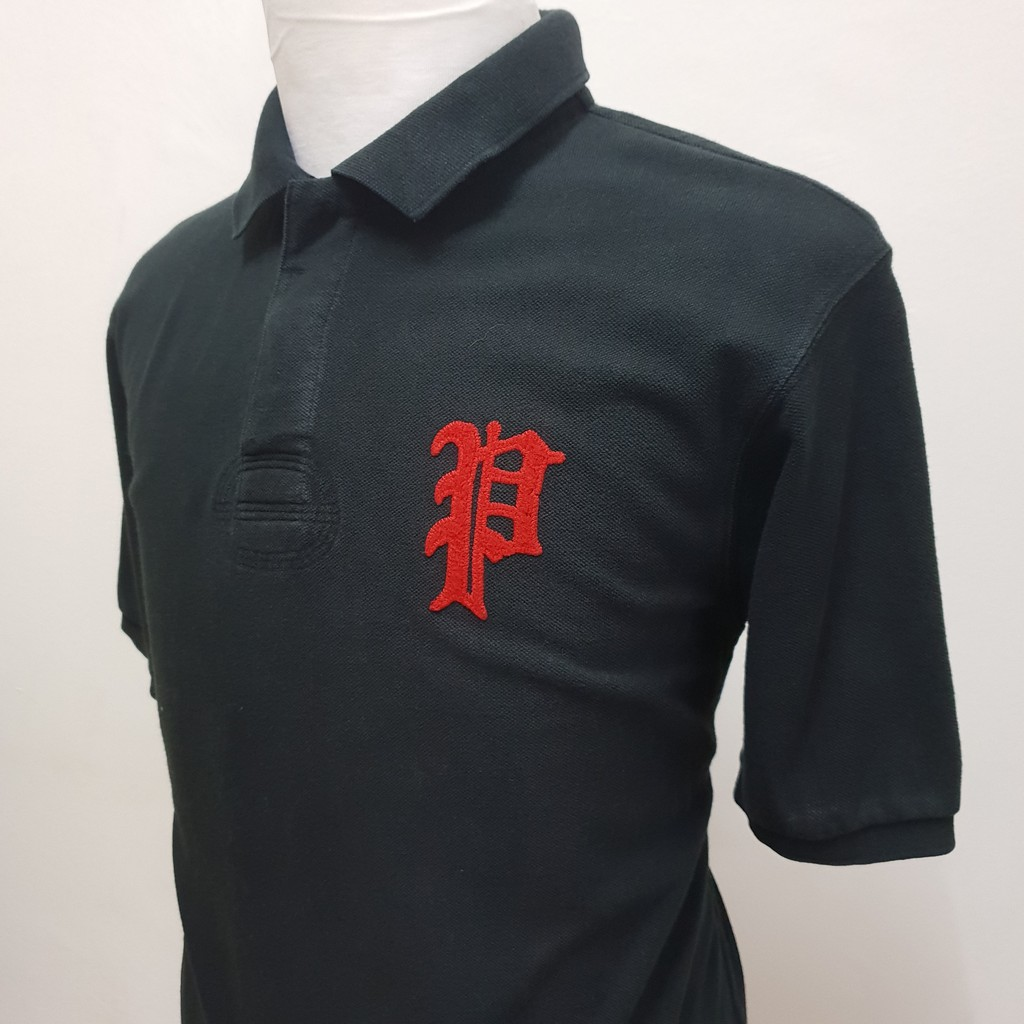 Ralph Size Rugby Black P Polo Lauren Custom Fit Xl BshQrxCotd