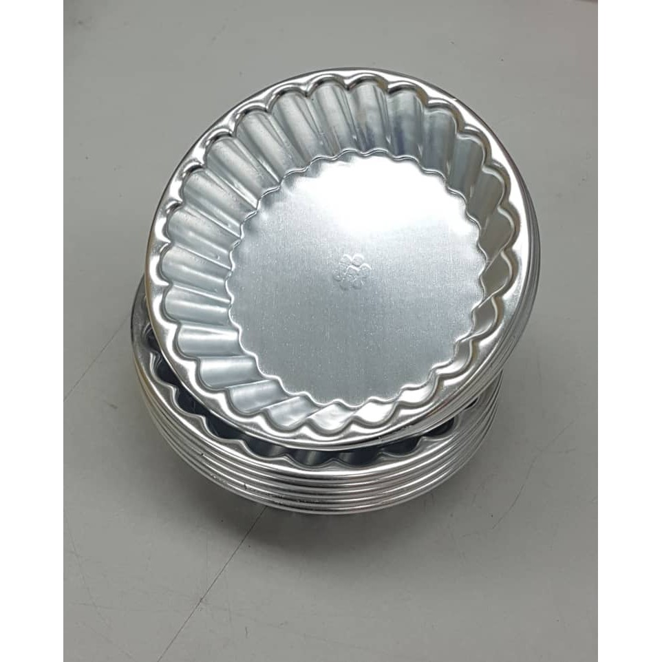 11cm (5pcs) Aluminium Tart Mould / Acuan Tart
