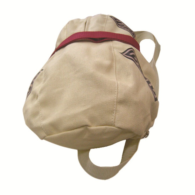 New Anime Naruto Gaara Yellow Gourd Backpack Cosplay Bag Props Ccollection