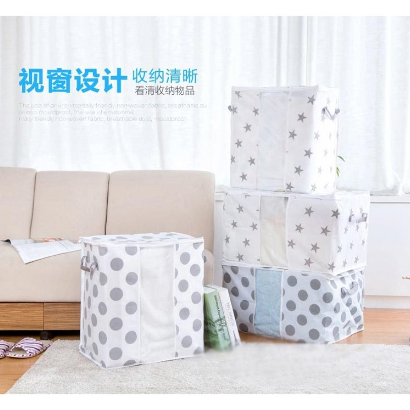 Foldable Storage Bag for Clothes and Bed Sheet