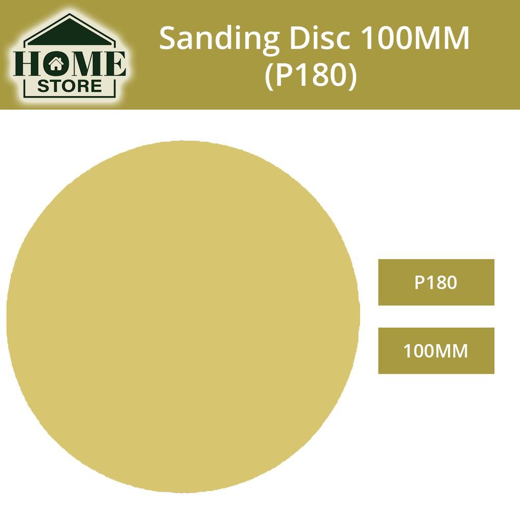 Aluminium Oxide Velcro Sanding Disc (Kertas Pasir Bulat) 100MM (4'')