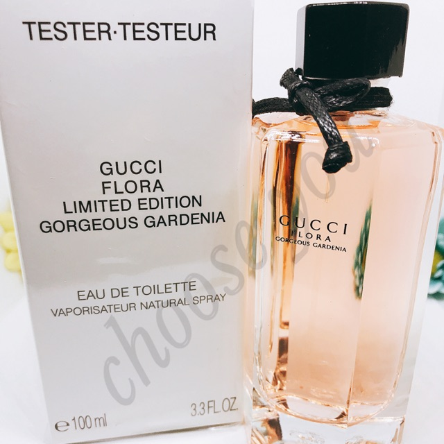 c2232b1ee53 Gucci Flora Limited Edition Gorgeous Gardenia EDT 100ml Tester ...